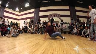 Crissy B Vs. Chops (Top 16 Footwork Battle)(Queenz of Hip-Hop 7th Annual Jam)