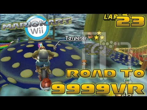 """Sick"" At the Game! - Road to 9999vr Ep 23 - Mario Kart Wii Wiimmfi CTGP"