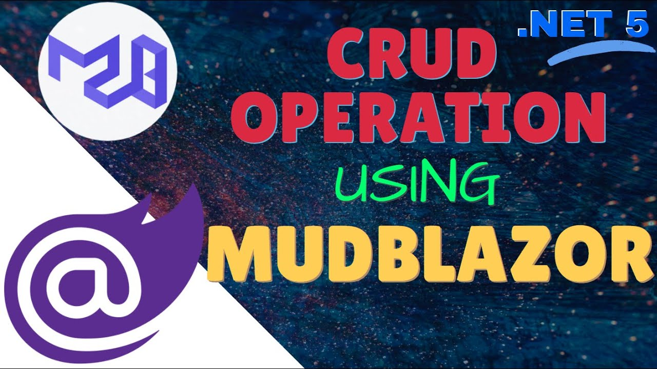 CRUD Operation Using MudBlazor    Best Blazor UI Components