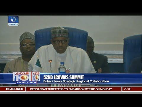 Buhari Seeks Strategic Regional Collaboration