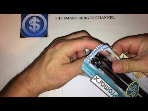 Promarx Megabold Gel Pen Review (Dollar Tree Item)