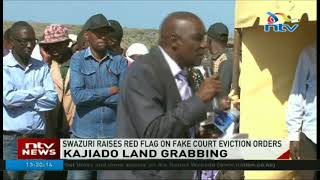 Swazuri raises red flag on fake court eviction orders