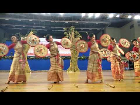 BIHU | Traditional Dance Form Of Assam | National Level Youth Festival |