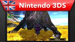 Monster Hunter 4 Ultimate Demo Guide: Part 3 - How to Beat Gore Magala (Nintendo 3DS)