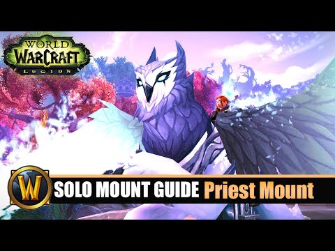 Telars Solo Mount Guide #62 Priest Class Mount (7.2.5)