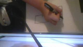 how to draw the mini uzi