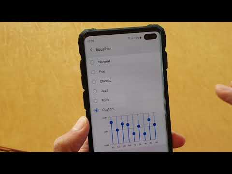 Galaxy S10 / S10+: How to Customize Sound Equalizer - YouTube