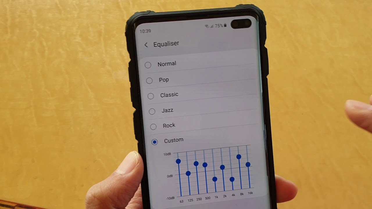 Galaxy S10 / S10+: How to Customize Sound Equalizer