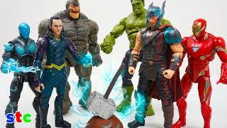 Loki esconde el Martillo de Thor Marvel Legends - Thor pierde su martillo