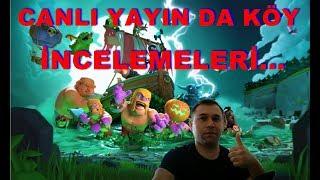CLASH OF CLANS SİZİN KÖYLERİNİZİ GENEL OLARAK İNCELİYORUM :)