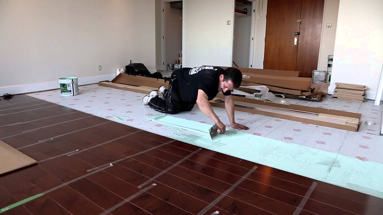 Dava Wood Flooring Double Glued Down Engineered