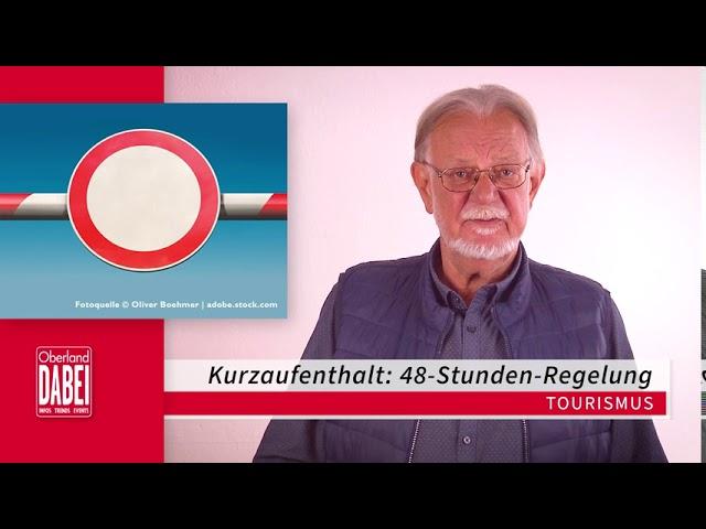 Oberland DABEI Newsflash 29.09.2020