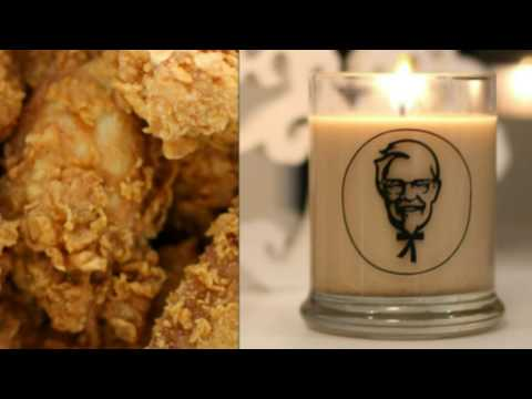 KFC has released a fried chicken-scented candle and it's getting the kind of reaction you'd expect