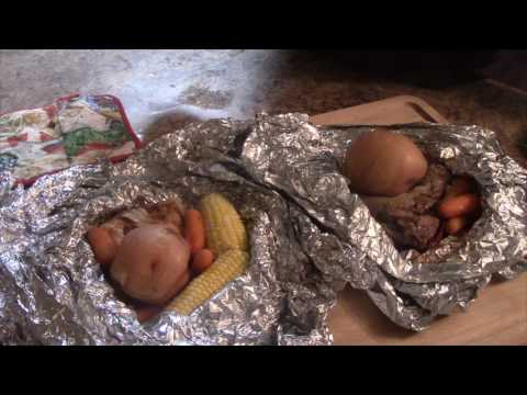 Easy Camp Fire Dinners - Life Hack