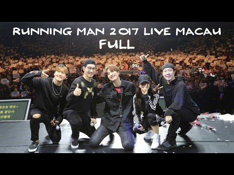 [FULL][Fancam] 170218 Running Man Fanmeeting in Macau 2017