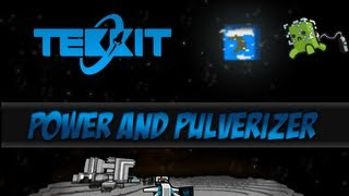 New Tekkit Ep.4 - Power and Pulverizer [Minecraft 1.5.1]