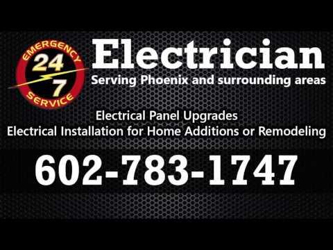 Electrician Phoenix Az 602-783-1747 Phoenix Electrician