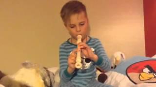 Первые уроки блок флейты