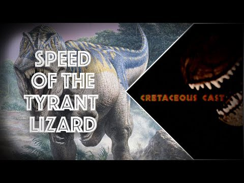 Speed of the Tyrant Lizard