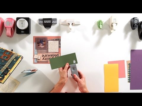 How to Use Craft Punches | Scrapbooking