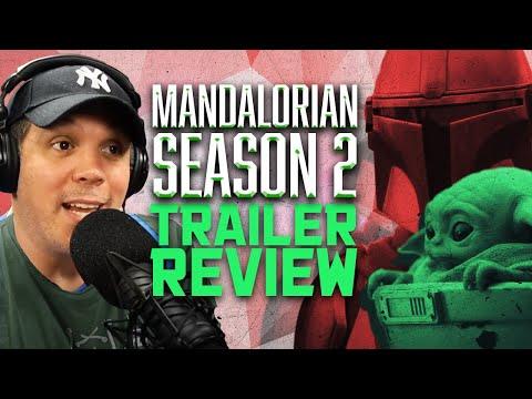 """The Mandalorian"" Season 2 Trailer Review! - SEN LIVE #216"
