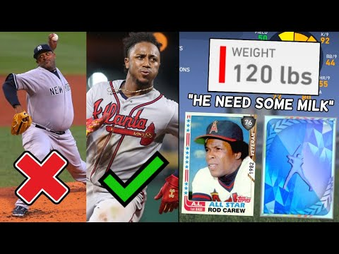 I Drafted The SKINNIEST Players In Mlb The Show.. (best Idea Yet)
