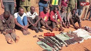 USHIRIKIANO WA POLISI BURUNDI NA TANZANIA, WAKAMATA MAJAMBAZI SABA''WAKIPIGA WANAKIMBIA BURUNDI''