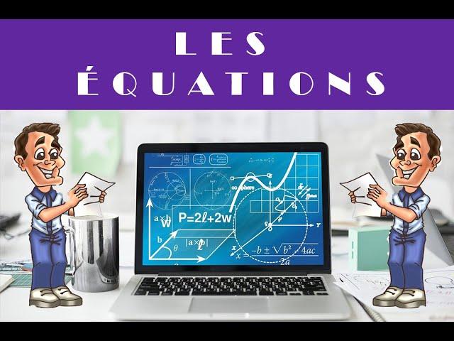 Résoudre une équation et problème - Maths 4ème et Maths 3ème.