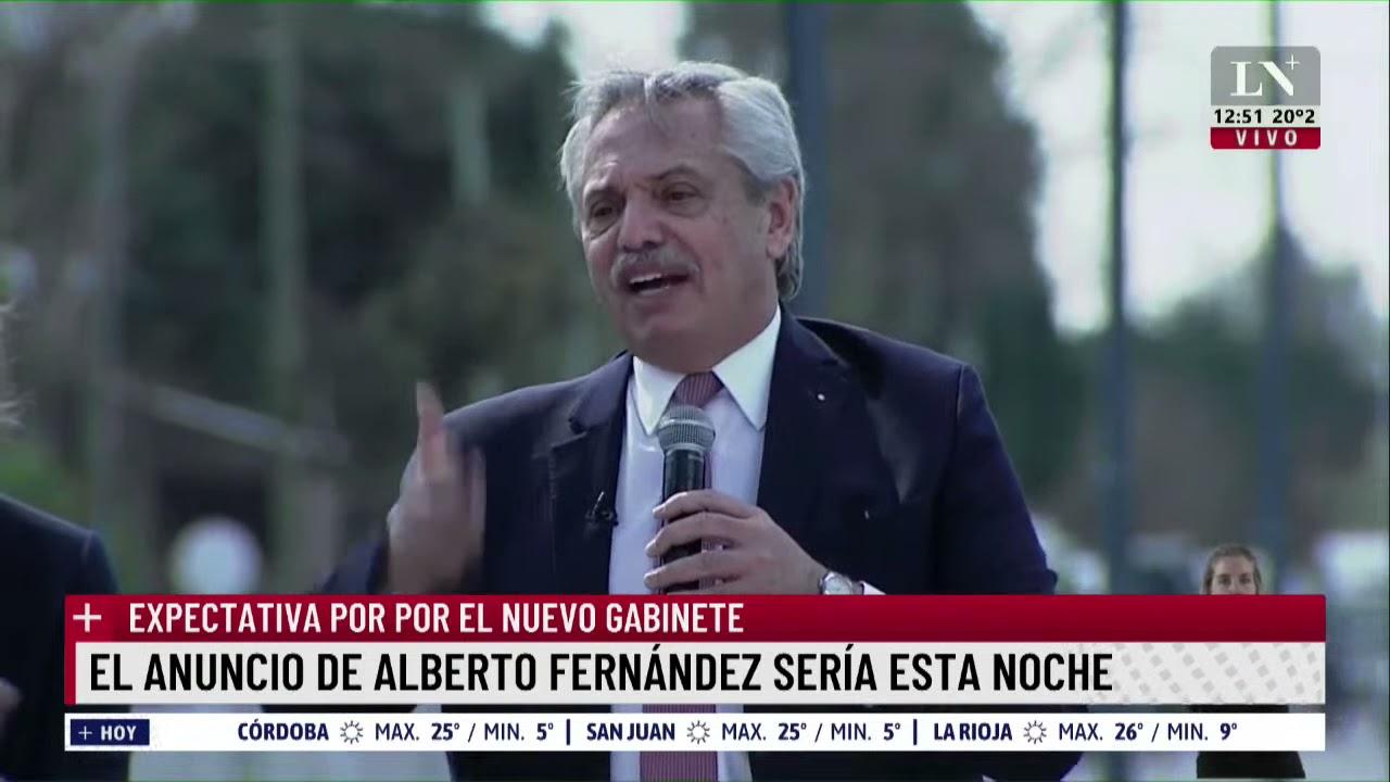 Download La relación de Alberto Fernández y CFK en dos minutos. Nuevo gabinete: expectativa por el anuncio.