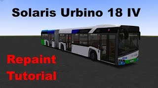 OMSI 2 Solaris Urbino IV Repaint Tutorial (Stettin)