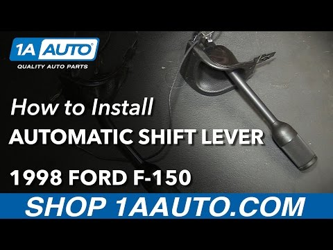 How to Install Replace Automatic Transmission Shifter Lever 1997-03 Ford F-150