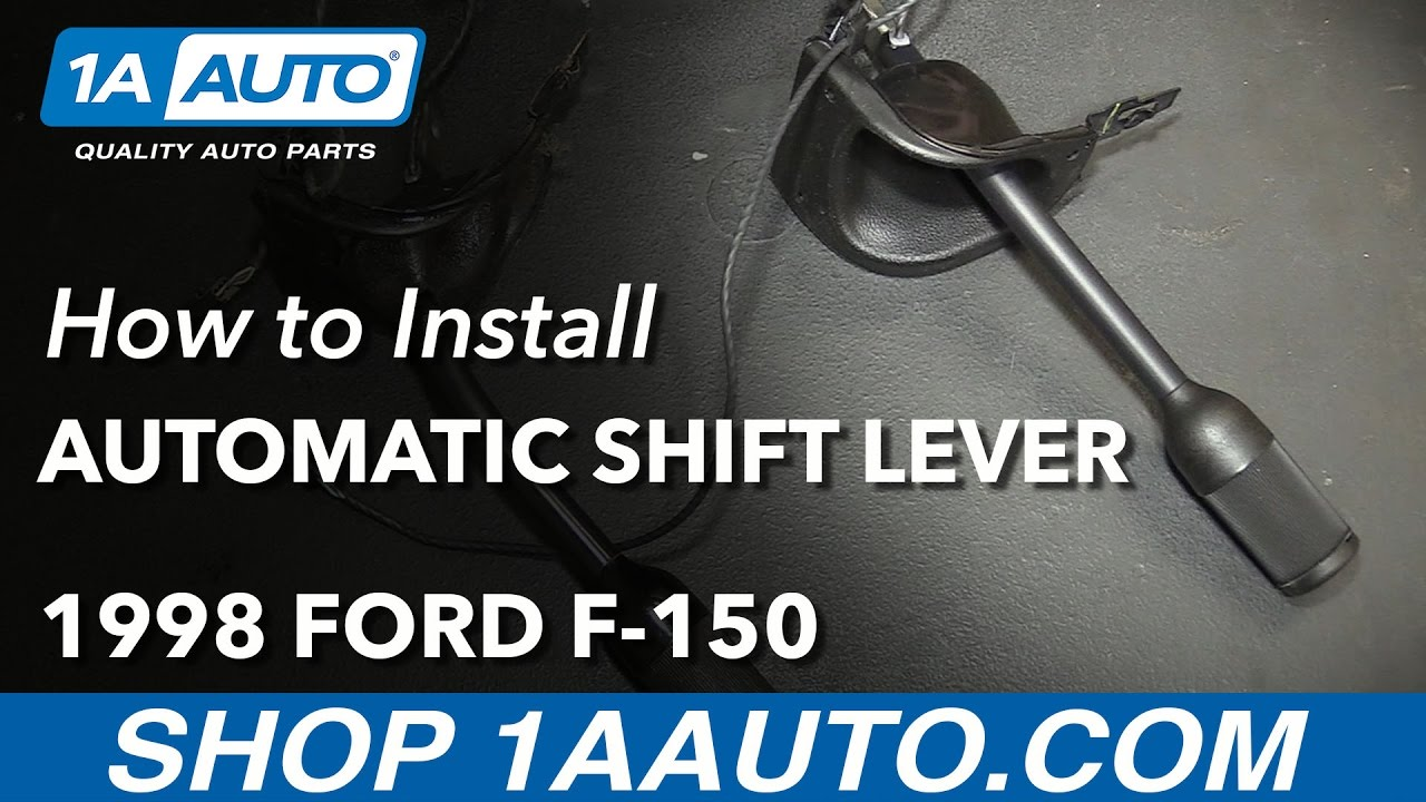 How to Replace Automatic Transmission Shifter 9703    Ford       F