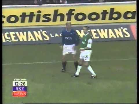 Rangers V  Hibernian 2000-01 Scottish Premier League