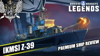 WoWS: Legends - Z-39 - Premium Ship Review