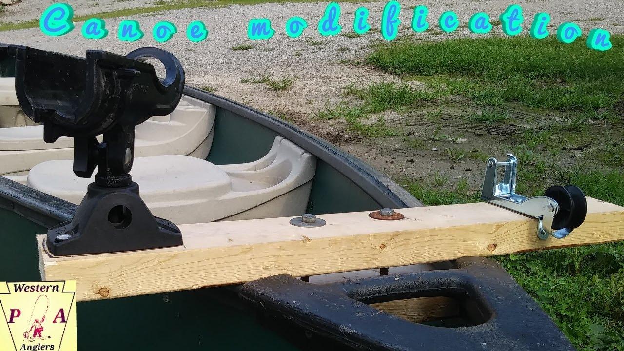 Cheap DIY Canoe Modifications