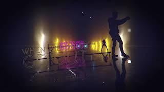 Lights Go Out [ Black Caviar Remix ] - Lyrics Video