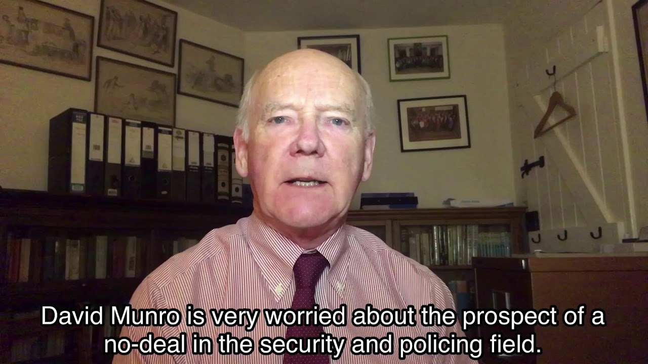 We need a security deal with the EU - and time is short!