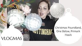 VLOGMAS | CHRISTMAS POUNDLAND, ONE BELOW, SOSTRENE GRENE, PRIMARK HAUL - Tanya Louise