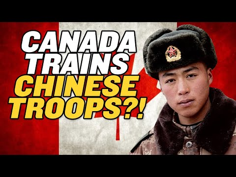 Canada's Secret Plan to Train Chinese Troops