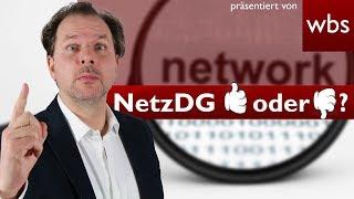 NetzDG: Verfassungswidrig oder das Aus für Hasskommentare?  | Rechtsanwalt Christian Solmecke