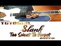 Belajar Petikan Intro Lagu Slank - Too Sweet To Forget