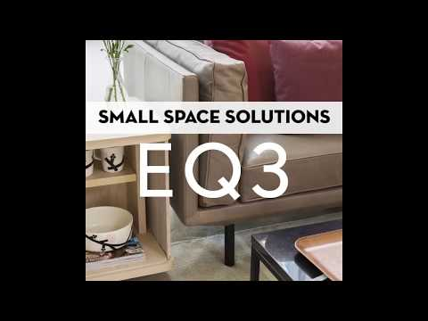 Small-Space Furniture: 3 Sleek Finds From EQ3
