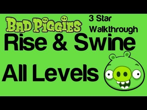Bad Piggies Rise and Swine All Levels 2-1 to 2-IX 3 Star   WikiGameGuides