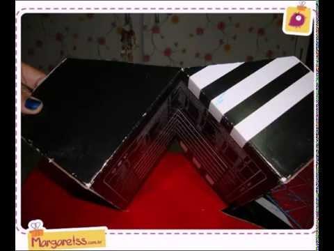 органайзер из коробки своими руками