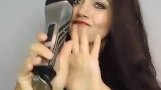 Smooth, Silky Hair Tutorial Step 1 knot solver  Step 2 Hair straighter ghdhairde  Step 3