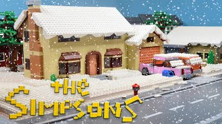 """The Simpsons' Christmas"" Lego Simpsons animation"