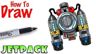 How to Draw FAMAS Burst Rifle | Fortnite - Clip.FAIL