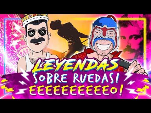 Freddy Mercury & Escorpión Dorado al volante