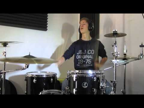 The Amity Affliction - Flowerbomb Drum Cover