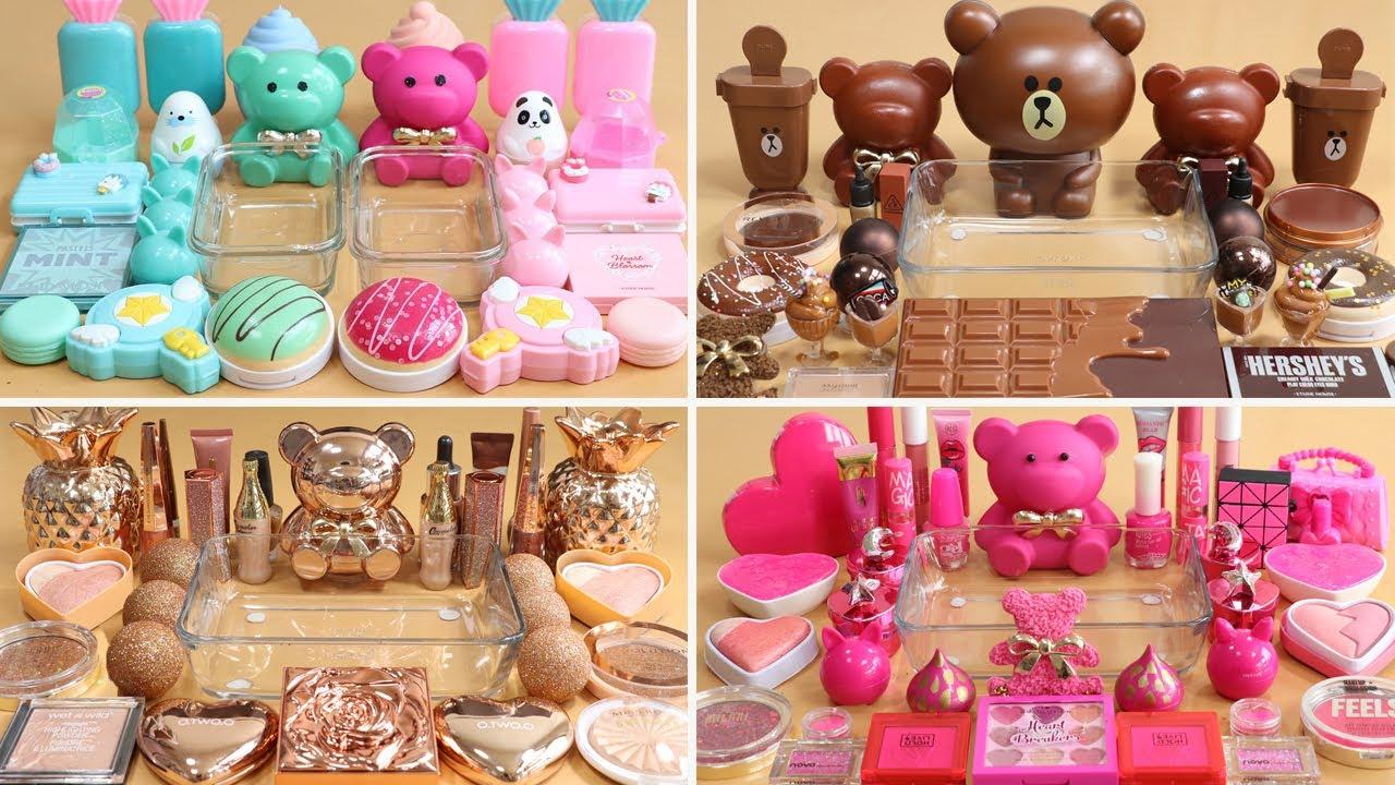 My BEST Cute Bear Slime Collection!!!Satisfying Slime Video!★ASMR★